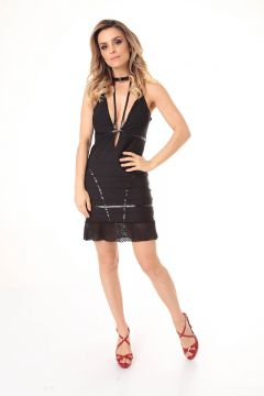 Vestido All Black - Carmen Steffens
