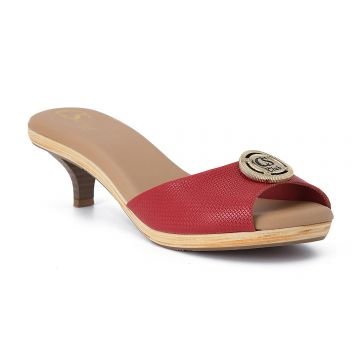Tamanco Red - Carmen Steffens