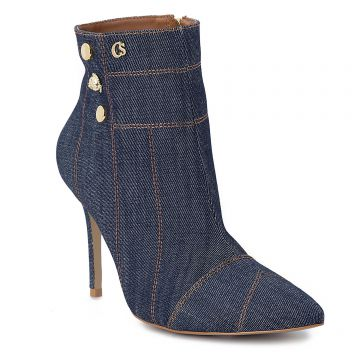 Ankle Boot Jeans Costure - Carmen Steffens