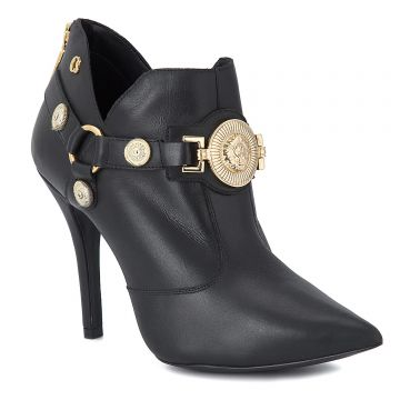 Ankle Boot Black Metal Lion - Carmen Steffens