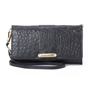Clutch Black CS Gold - Carmen Steffens