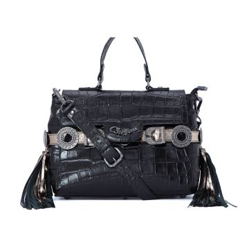 Satchel Bag Glam Black - Carmen Steffens