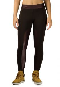 Legging Praxis Fit Gloss Casual Marrom Praxis