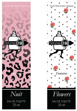 KIT Perfumes Perfumes2go Nuit 25ml EDT + Flowers 25ml EDT P