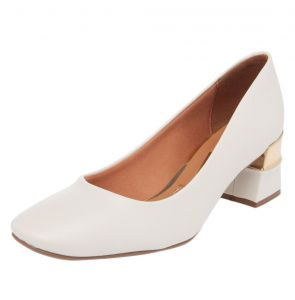 Scarpin Vizzano Filete Off-White Vizzano