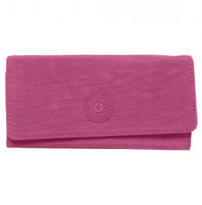 Carteira Kipling Basic EWO Brownie Berry Rosa Kipling