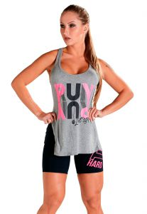 Blusa Básica Lets Gym Run Mescla Estampada Lets Gym