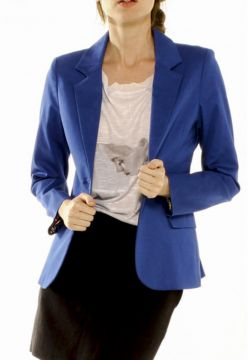 Blazer Unique Tradicional Azul Unique