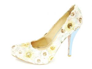 Scarpin Infinity Shoes Floral Infinity Shoes