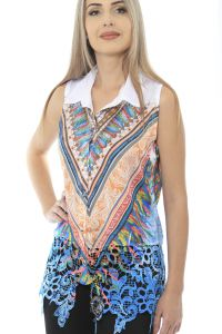 Camisa 101 Resort Wear Renda Guipir 101 Resort Wear