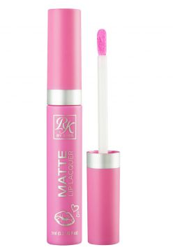 Batom Matte Lip Lacquer Think Pink RK by Kiss NY