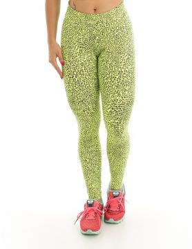 Legging Diamond Fit Basic Onça Verde DiamondFit Style
