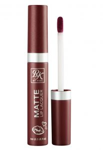 Batom Matte Lip Lacquer Rosy RK by Kiss NY