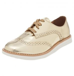 Oxford Vizzano Fashion Dourado Vizzano