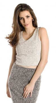 Regata Cropped Lucidez Branco Lucidez