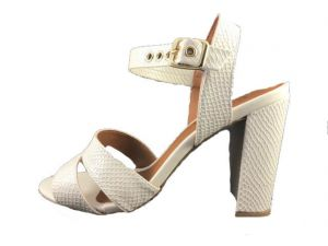 Sandália Phyton Enzo by Rubim Off White Enzo by Rubim