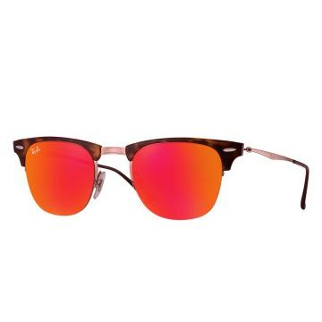 Óculos De Sol Ray-Ban Clubmaster Light Ray RB8056 Marrom Ra