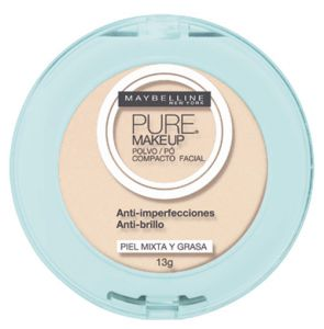 Pó Maybelline Pure Make Up Arena Natural 13g Maybelline