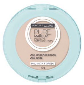 Pó Maybelline Pure Make Up Beige Claro 13g Maybelline
