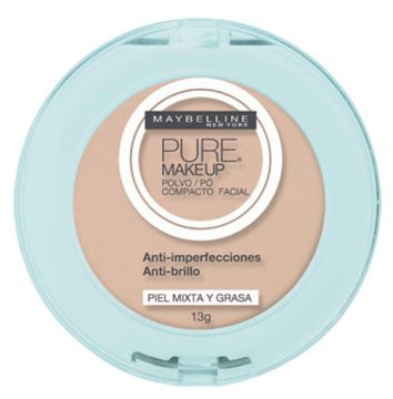 Pó Maybelline Pure Make Up Dourado 13g Maybelline