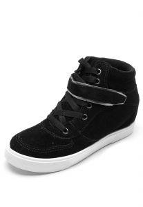 Tênis DAFITI SHOES Cano Médio Preto DAFITI SHOES