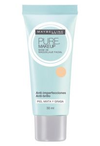 Base Maybelline Pure Makeup 20 Beige Claro 105g Maybelline