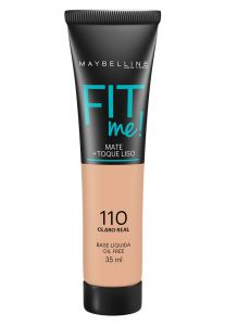 Base Maybelline Fit Me 110 Claro Real 35ml Maybelline