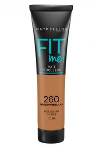 Base Maybelline Fit Me 260 Médio Particular 35ml Maybelline