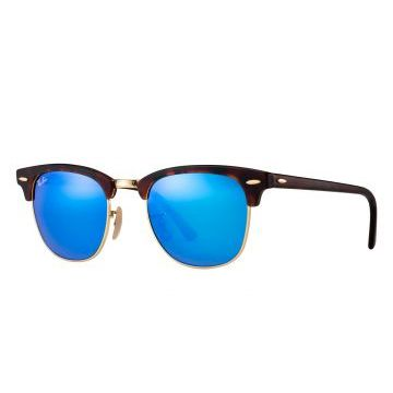 Óculos De Sol Ray-Ban Clubmaster Color Mix RB3016 Tartaruga
