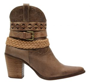Bota Francalce Country Texana Marrom Francalce