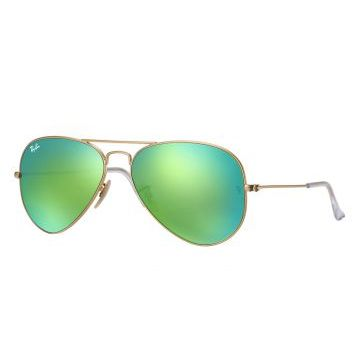 Óculos De Sol Ray-Ban Aviator Large Metal RB3449 Ouro Ray-B