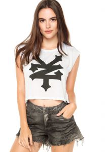 Camiseta Zoo York ZY Branca Zoo York