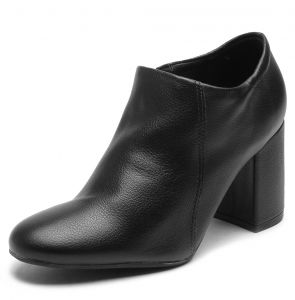Ankle Boot Crysalis Recorte Preto Crysalis