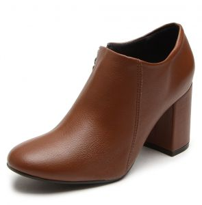 Ankle Boot Crysalis Recorte Caramelo Crysalis
