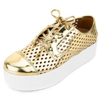 Oxford Crysalis Lasercut Dourado Crysalis