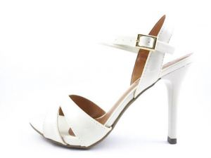 Sandália Enzo by Rubim Off White Enzo by Rubim