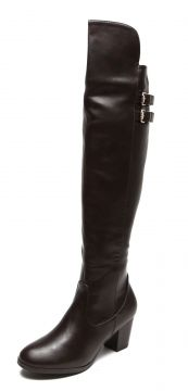 Bota Over The Knee Facinelli by MOONCITY Fivela Marrom Faci