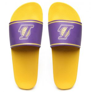 Chinelo Rider NBA Los Angeles Lakers Amarelo/Roxo Rider