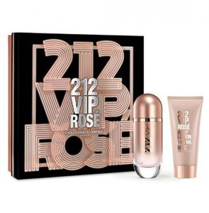 Kit Perfume 212 Vip Rose Carolina Herrera 80ml Carolina Her