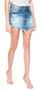 Saia Jeans Sommer Curta Perfect Azul Sommer