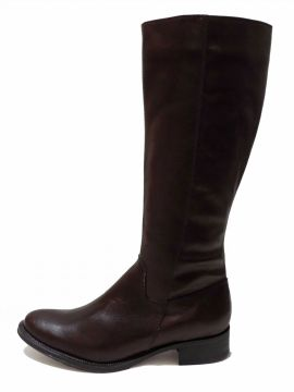 Bota Encinas Leather Montaria Simples Café Encinas Leather