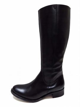 Bota Encinas Leather Montaria Simples Preta Encinas Leather