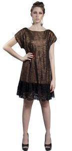 Vestido Mainstream NY cobre Mainstream