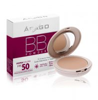 BB Powder Árago Dermocosméticos Hidracolors FPS 50 - Bege -