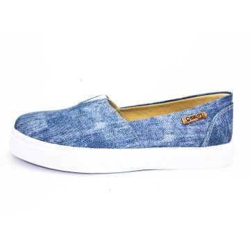 Tênis Quality Shoes Slip On 002 Jeans Quality Shoes