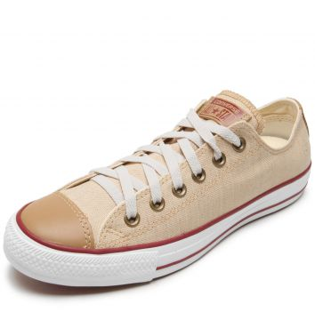 Tênis Converse Chuck Taylor All Star Ox Bege Converse