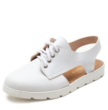 Oxford DAFITI SHOES Vazado Branco DAFITI SHOES