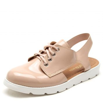 Oxford DAFITI SHOES Vazado Nude DAFITI SHOES