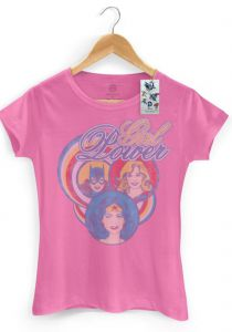 Camiseta Oficial DC Comics Power Girls DC Comics
