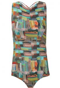 Body Kika Simonsen Abstract verde Kika Simonsen